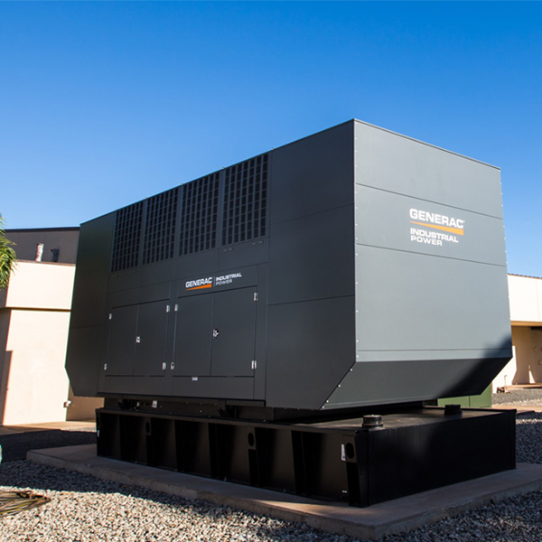 Generator at AlohaNAP, 1547's Colocation & Data Center facility, Hawaii